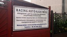 Racing Autóalkatrész